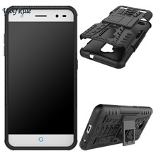 ZTE Blade V7 Lite Cases Cover ShockProof TPU +PC Phone Stand Case V6 Plus / A2 Funda - Wolfrule Speciality Store store