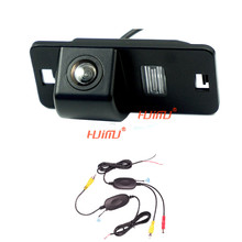wireless car rear camera rearview system for BMW E46 330d 323ci 320cd M3 E90 E91 E92 E60 E61 E62 E63 parking assist