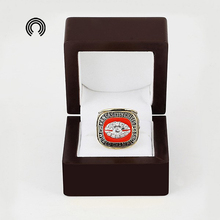 low price for Wooden Boxes With 1969 Kansas City Chiefs Replica Super Championship Ring free shipping(China)