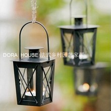 Free shipping,1pc,Dora house fashion new classical chalybeate mousse wrought iron hanging lantern candle cup decoration,garden