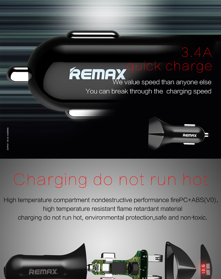 REMAX Alien Car Charger_06
