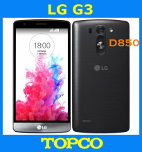 "LG G3 D850 D851 Original Unlocked GSM 3G&4G Android Quad-core RAM 3GB 32GB ROM  5.5"" 13MP WIFI GPS Mobile Phone dropshipping"