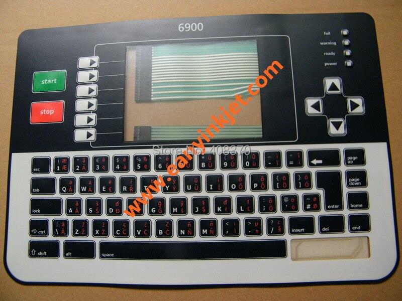 New Original Linx keyboard Linx 6900 inkjet keyboard display for Linx 6900 inkjet printer<br><br>Aliexpress