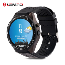 LEMFO kw88 Android 5.1 Smart Watch 512MB + 4GB Bluetooth 4.0 WIFI 3G Smartwatch Phone Wristwatch Support Google Voice GPS Map(China)