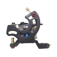 Free Shipping! Hot Professional Handmade Tattoo Machine Retail or Wholesale 10 Wrap Coils Machine 1100248