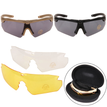 Buy Anti-UV400 Bike Bicycle Eyewear Tr90 Military Goggles Polarized Sunglasses Army Tactical Shooting Glasses Cycling Accessories for $10.57 in AliExpress store