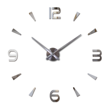 2017 new wall clock reloj de pared quartz watch living room large decorative clocks modern horloge murale still life stickers