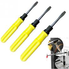 3 Sizes Screwdrivers 2/3/4inch Double Use Slotted Crossed Screwdriver Electrical Repairing Hand Tool