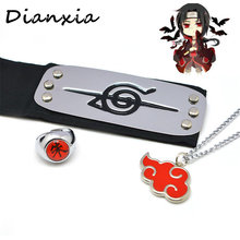 3pcs/set Anime Naruto Headband Akatsuki headband Hot Sale Kids Unisex Fashionable Guard Cosplay Cartoon Accessories Dianxiatoy