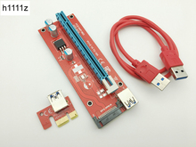 Buy Riser Red VER007S PCI Express Riser Card 1x 16x PCI-E Extender USB 3.0 Cable 15Pin SATA BTC Mining Bitcoin Miner Antminer for $1.10 in AliExpress store