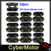 10x T8F Chain Spare Master Link For Mini ATV Quad 4 Wheeler Dirt Super Pocket Bike Motorcycle 2 Stroke 43cc 47cc 49cc