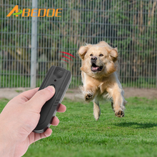 ABEDOE Anti-Bark Ultrasonic Aggressive Dog Pet Repeller Barking Stopper Deterrent Train Banish Dog Machine(China)
