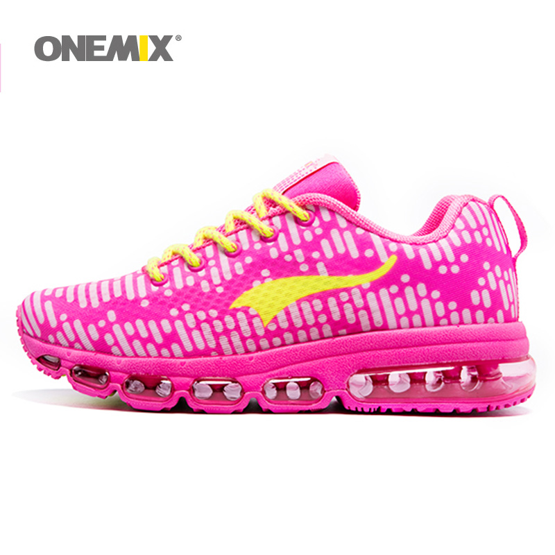 ONEMIX Woman Running Shoes Women Nice Run Athletic Trainers Peach Zapatillas Sports Shoe Max Cushion Outdoor Walking Sneakers<br><br>Aliexpress