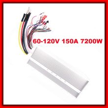 60V-120V 150A 7200W Big 24 mosfet BLDC Universal Brushless DC Motor controller for motorcycle,electric-bike,scooter