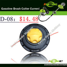 Free Shipping brush cutter machine lawn mowertrimmer head brush cutter head grass cutting machine gasoline plastic head D-08