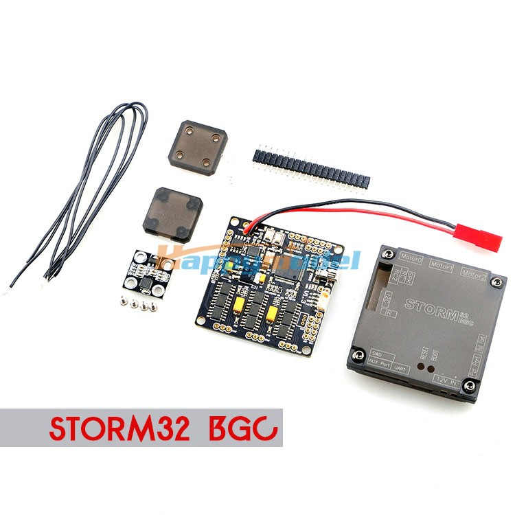 Storm32 BGC 32Bit 3-Axis Brushless Gimbal Controller with Case Double gyroscope for Quadcopter Multicopter<br>