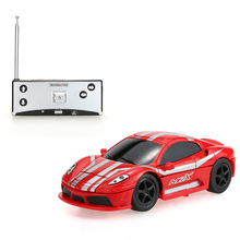 Original Create Toys NO.8010 40MHz Mini Flashing 2-In-1 Electric Robot RC Car