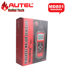 AUTEL MaxiDiag Pro MD801 4 in 1 OBDII Code Scanner (JP701+EU702+US703+FR704) MD 801 Auto Diagnostic-tool(China)