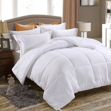 Down Alternative Comforter, Duvet Insert, Medium Weight for All Season, Fluffy, Warm, Soft & Hypoallergenic(China)
