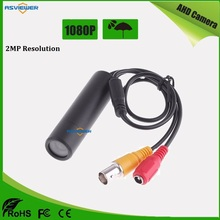 2MP/1080P MINI Size waterproof and dustproof Bullet Camera in 3.6mm lens AHD Camera Pen shape AS-AHD601HM1
