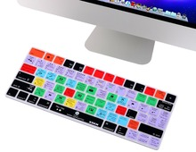 XSKN for Adobe Lightroom CC Hot keys Design Keyboard Cover Silicone Skin for Apple Magic Keyboard (MLA22LL/A, Released 2015)(China)