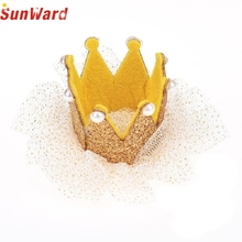 JU 20 Fairy Store  2016 Hot Selling Hot Sale Crown Pearl Princess Hair Clip Party Accessories