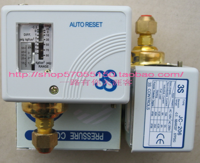 3s pressure switch single electro controller jc-206  <br>