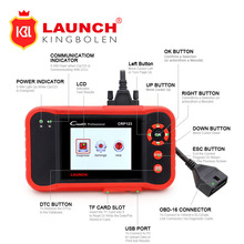 Powerful Launch CRP123 Auto Code Reader Update Online X-431 Creader CRP 123 ABS, SRS, Transmission and Engine Car Scan Tool(China)