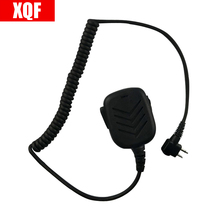 High Quality Hand Shoulder Mic Speaker For Motorola Radio XU2100 XU2600 XU4100 GP68, GP88, GP88S CP150, CP200 SP10, SP21, SP50(China)
