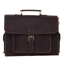 ROCKCOW High Quality Genuine Leather Briefcase Men Messenger Shoulder Bag Men Handbags 9098(China)