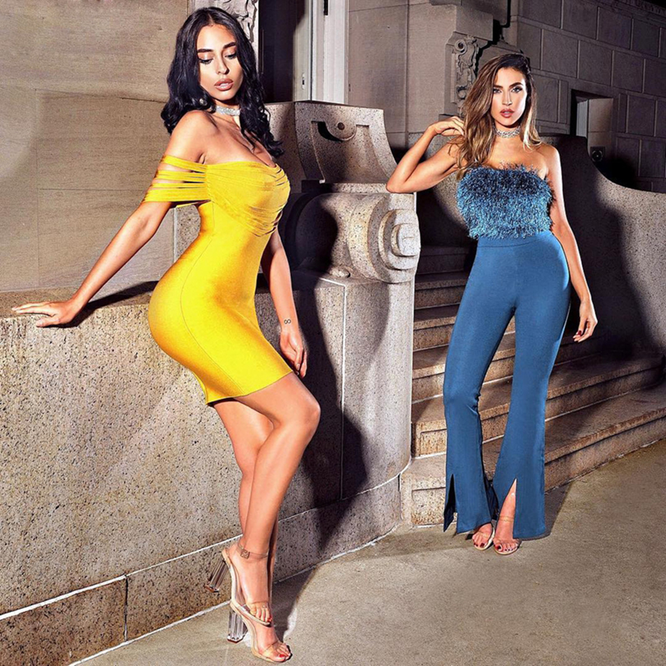 Ocstrade-Vestido-Rayon-Bandage-Dresses-2017-New-Arrivals-Summer-High-Quality-Yellow-Fringe-Sexy-Off-Shoulder (3)