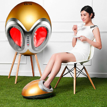 2016 best new present! Heated electric foot massage machine best-seller foot massager device health body care free shipping(China)