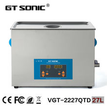 Laboratory equipment 27L carburetor ultrasonic cleaner bath supplier heating washing machine VGT-2227QTD(China)