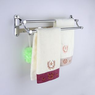 Free shipping towel bar 60cm stainless steel Double  Bar ,Towel bar,Towel Holder,towel rack,Bathroom accessories<br>