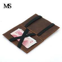 New Arrival High Quality Genuine Leather Magic Wallets Men Fashion Designer Purses With Card Holder TW2706(China)