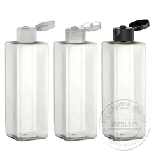 250ML Square Bottle, PET Bottle With Low Price And Flip Top Cap