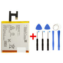 100% New LIS1502ERPC 2330mAh L36H Battery For SONY Xperia C S39h C2305 / Z L36H L36i SO-02E C6603 C6602 Battereis with Tools
