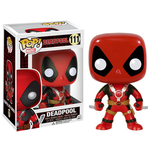 Funko pop Marvel  Movie Deadpool action figures for kids 2017 New X-man deadpool Car shaking head doll ornaments styling tools<br><br>Aliexpress