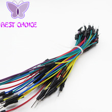 65 X Flexible Solderless Male-Male Breadboard Jumper Cable Wires Brandnew Free Shipping