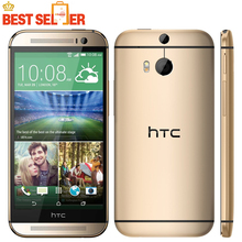 "Original HTC ONE M8 Mobile Phone 4G LET 5.0"" Quad Core Android 4.4 RAM 2GB 16GB/32GBROM Bluetooth WIFI NFC Free Shipping"