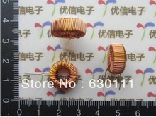 Free shipping !! 10pcs Nude 100UH 6A the toroidal inductor winding inductance the toroid inductor lm2596 dedicated