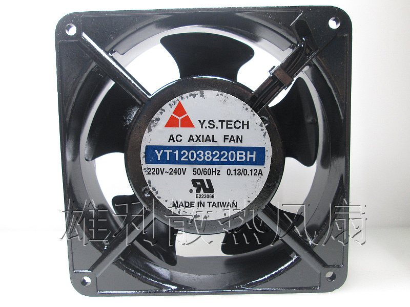 Free Delivery.YT12038220BH 220V 0.18A 12cm 12038 Cooling Fan<br>