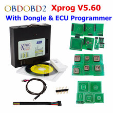 Full Set Of XPROG M ECU Chip Tuning Tool X-PROG With All Adapters & Chips X Prog 5.60/Xprog 5.70 Full Authorization V5.6