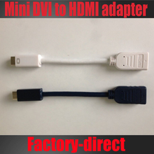 Mini DVI to hdmi adapter cable for MacBook 12inch PowerBook G4,for iMac (Intel Core Duo) High quality
