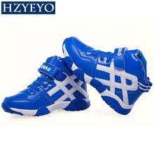 HZYEYO brand children's Basketball shoes boys sneakers girls sport shoes size 28-39, B-012(China)