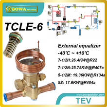 7.5RT cooling capacity thermostatic expansion valve replace Saginomiya AEX and  ALCO TCLE and Honeywell TMX expansion valves