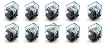 10Pcs Relay Omron MY2NJ 220V AC Small relay 5A 8PIN Coil DPDT