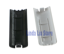High Quality White Black Battery Back Cover Shell Case for Nintendo Wii Remote Controller 2pcs/lot(China)