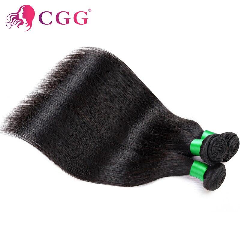 Indian Virgin Hair Straight 7A Unprocessed Virgin Human Hair CGG Hair Products 3 Bundles Straight Human Hair Weave Extensions<br><br>Aliexpress