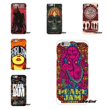 For Samsung Galaxy S3 S4 S5 MINI S6 S7 edge S8 Plus Note 2 3 4 5 Alternative Pop Rock Pearl Jam PJ Silicone Phone Case(China)